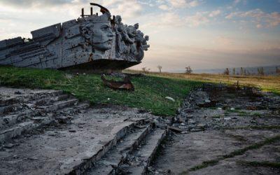 «Pour mémoire» Exposition photo de Guillaume Herbaut à la Grande Arche de la Défense